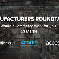 Manufacturers Roundtable - Would eCommerce work for you?