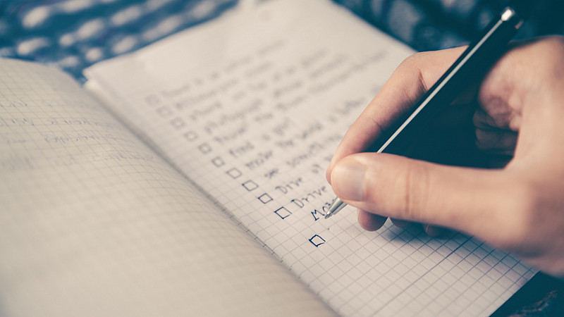 Your vital to-do list