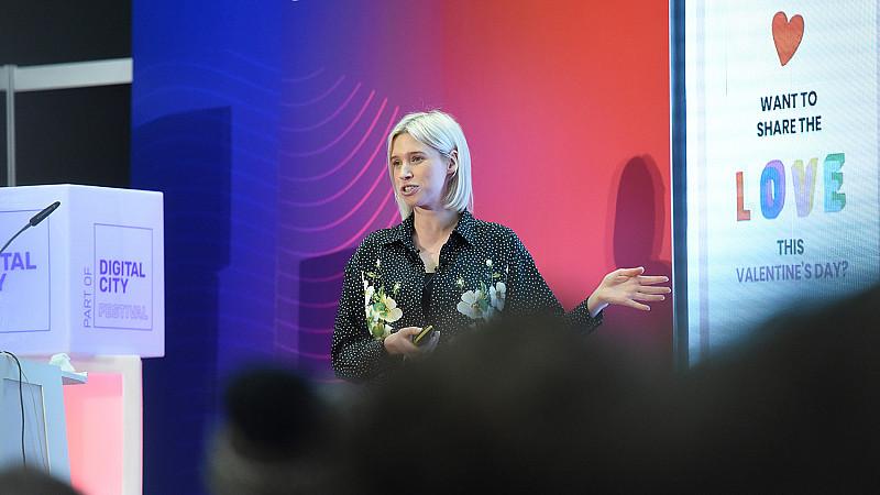 Katy Leeson at Digital City Festival