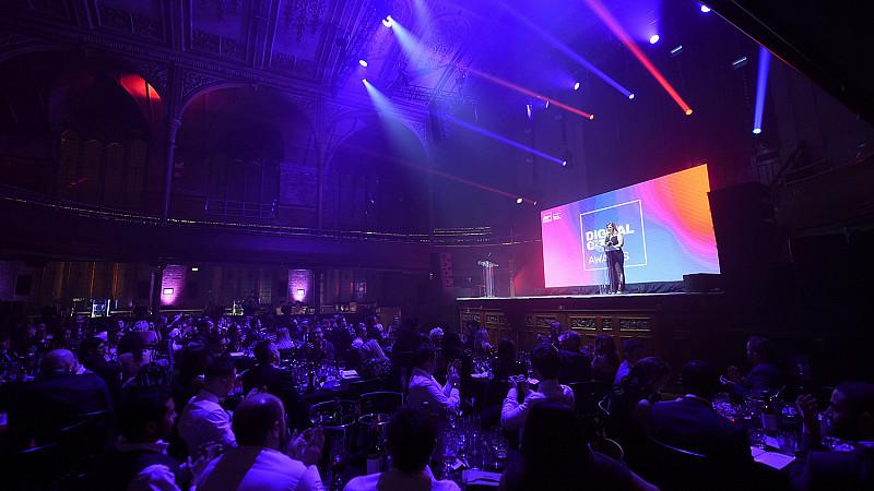Digital City Awards at Albert Hall