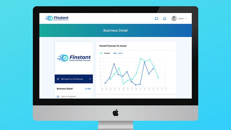 Finstant's forecasting capabilities