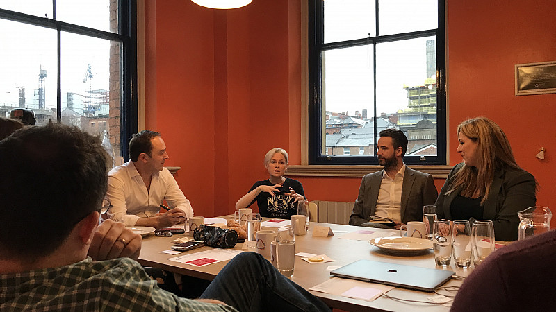 Tash Willcocks, Tech Growth and Success 2019 roundtable