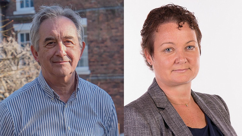 Metricomm directors - Pictured, left: Mark Westaby. Pictured, right: Karen Williams.