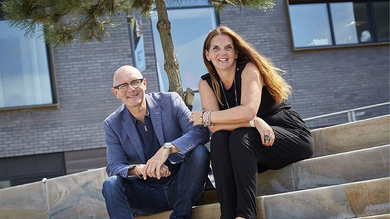 Moodbeam founders Jonathan Elvidge and Christina Colmer McHugh