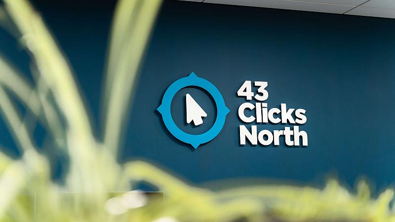 43 Clicks North