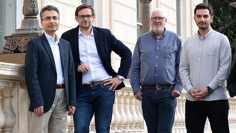 Bubo.AI's Huseyin Seker, Marcin Lisowski, Alan Timothy and Furkan Tektas