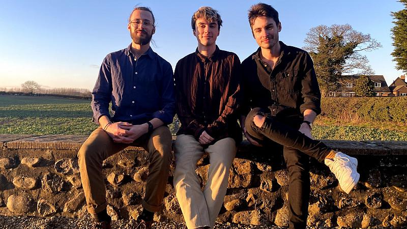 Digital Converters - from left directors James Palliser, Mark Parle and Sean Parle.