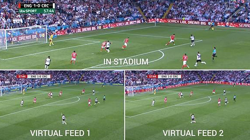 World first in virtual advertising at England s Elland Road match ... b8f9c5c9dca