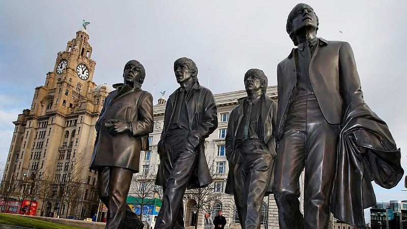 Beatles statues