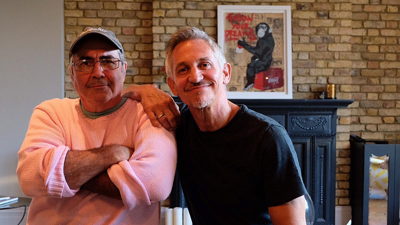 Danny Baker and Gary Lineker