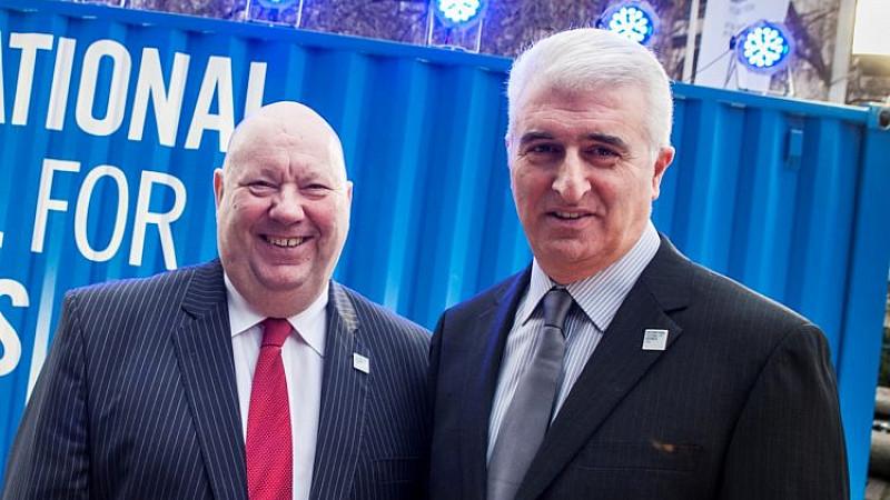Mayor Joe Anderson and Max Steinberg