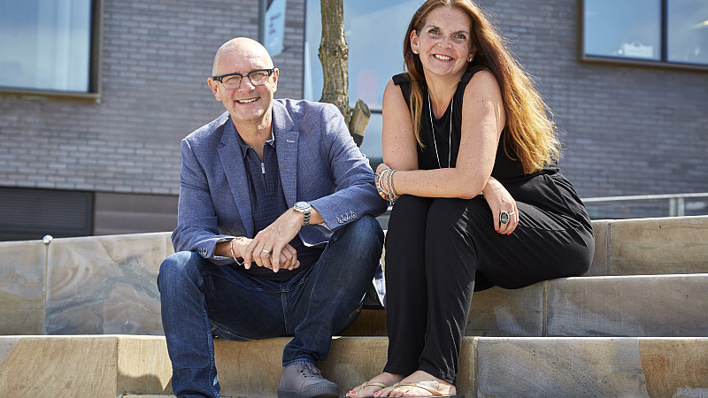 Jonathan Elvidge and Christina Colmer McHugh, Moodbeam founders