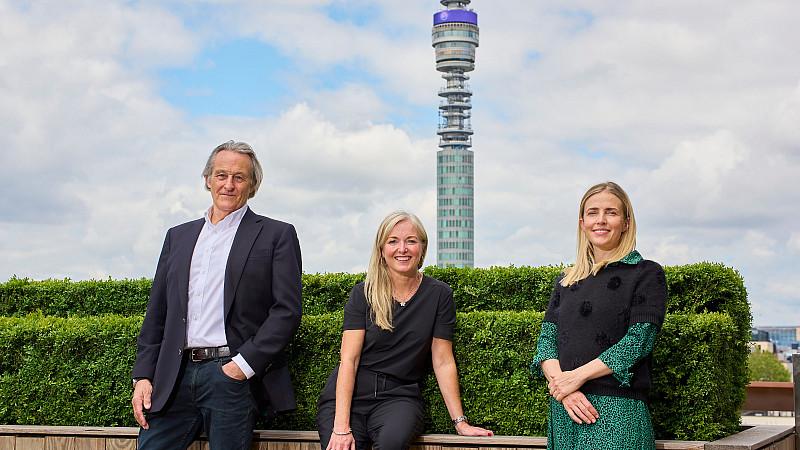 Nigel Howes, Louise Vaughan and Heather Baker