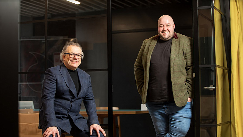 Andy Beaden, co-founder of IN4.0 Group & Steven Fry, Chief Digital Officer at Salford City Council