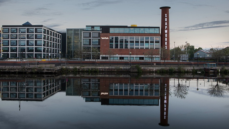 Soapworks 120 Itok Talktalk To Move Headquarters And Hundreds Of Staff From