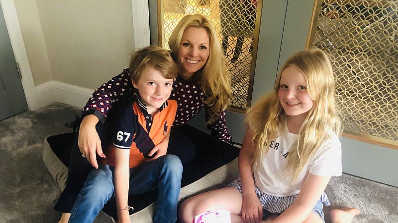 Tamarind Wilson-Flint with her children