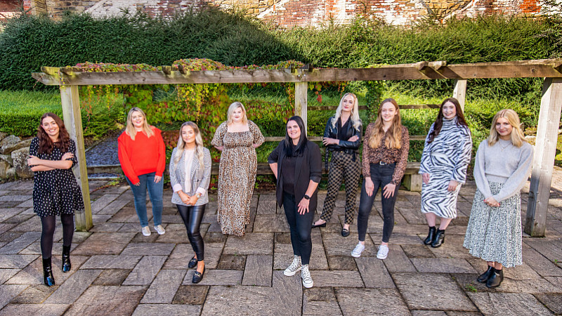 Managing director, Katrina Cliffe (pictured, centre), with the Wild PR team.