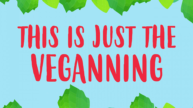 """Veganuary say this is the """"Veganning"""""""