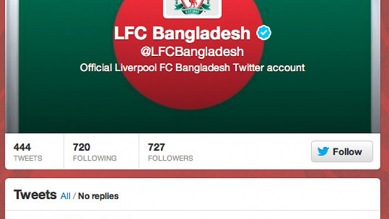 Liverpool becomes Twitter's most global football club
