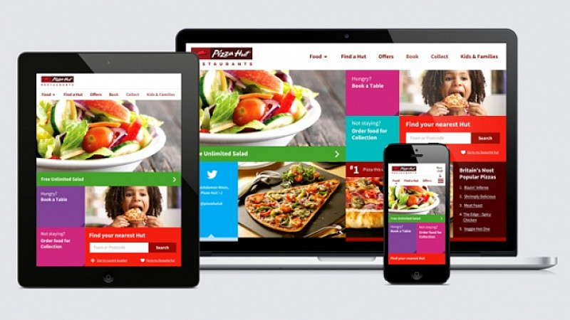 Amaze Gets Personal With New Pizza Hut Site Prolific North