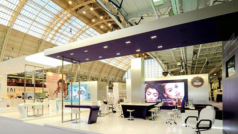 Trade Stands Olympia : Full circle events commissioned for two major stands in