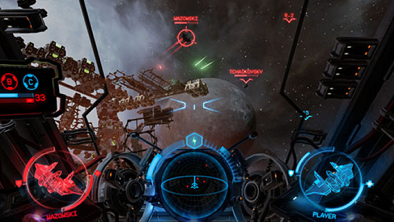 Atomhawk designs cutting edge interface for VR games Prolific North