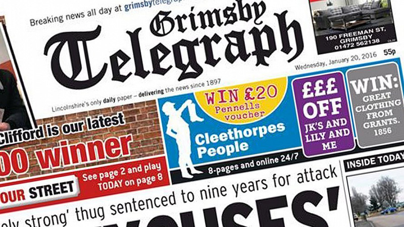 Cached Grimsby evening telegraph photo archives