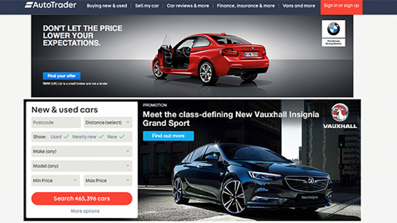 """Autotrader continues """"strong growth"""" 