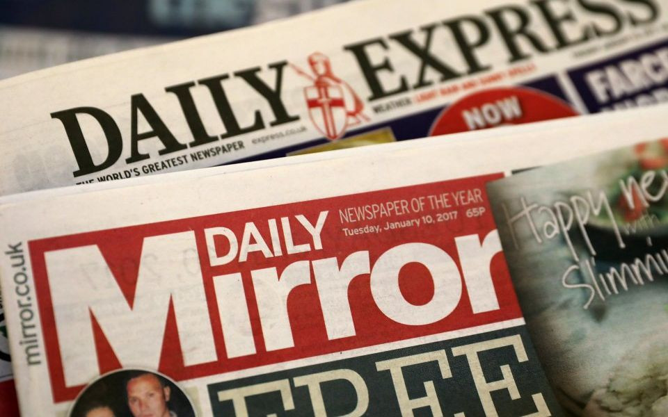 Trinity Mirror closes in on Express and Star deal