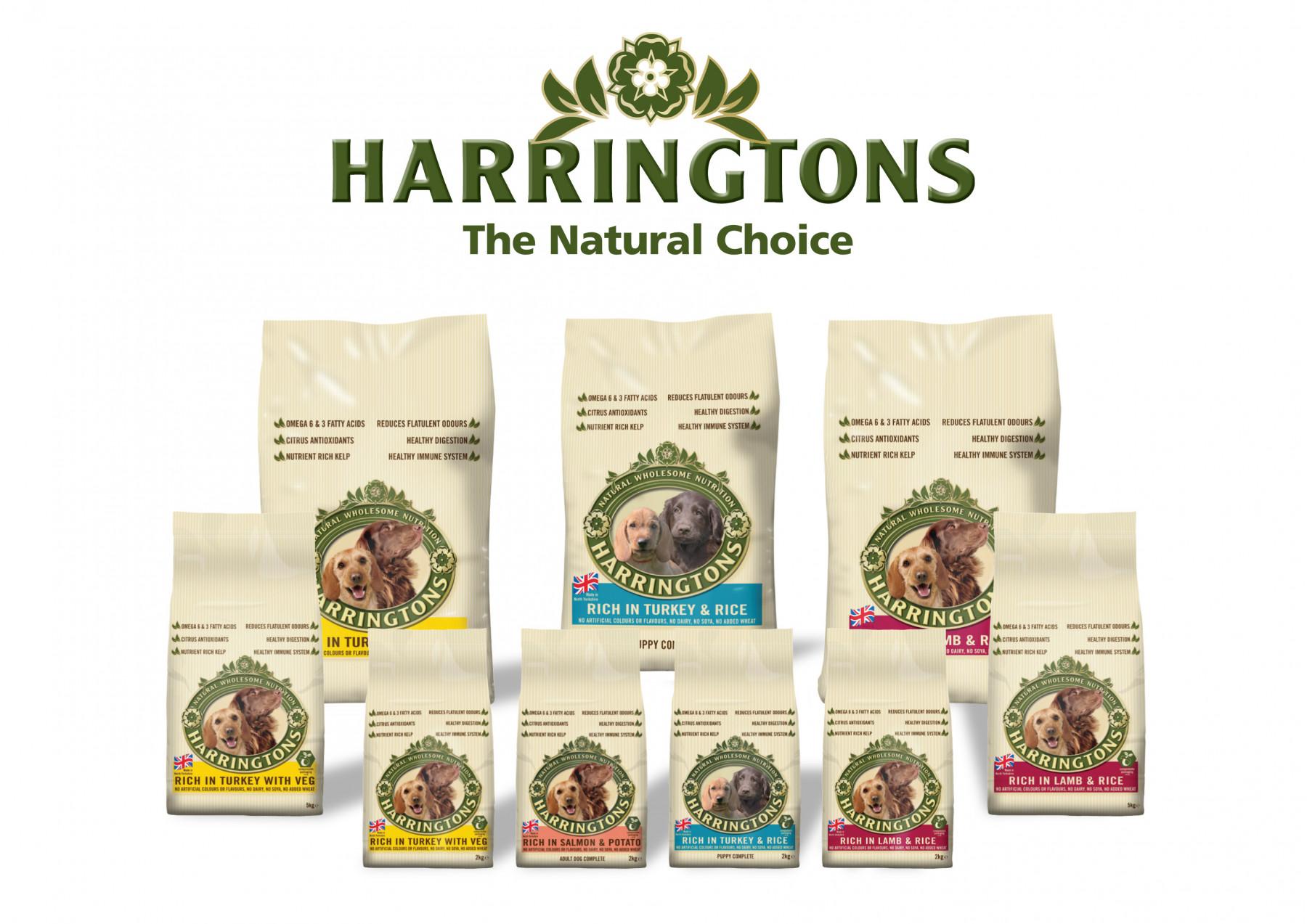 Harringtons Pet Food Marketing