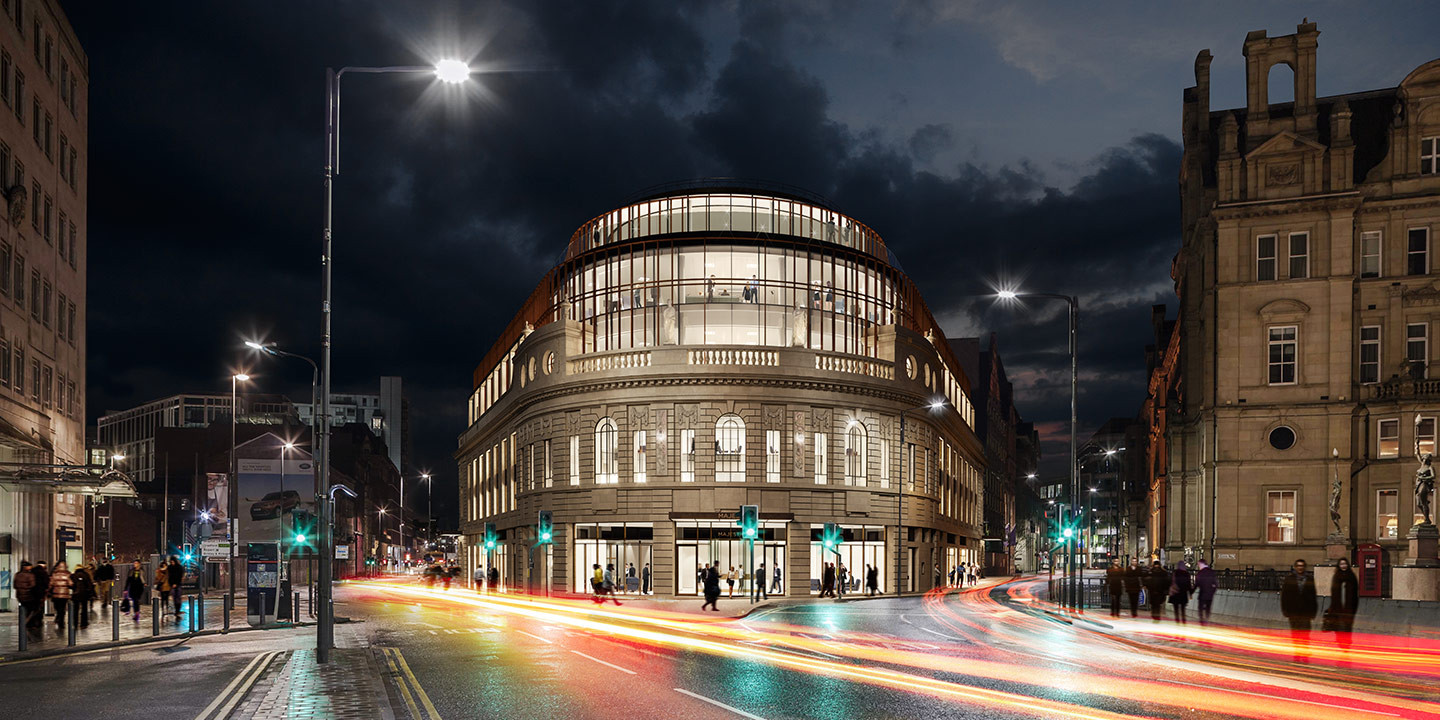 6942e6512 Channel 4 is in advanced negotiations to make the historic Majestic  building in Leeds its new National HQ.
