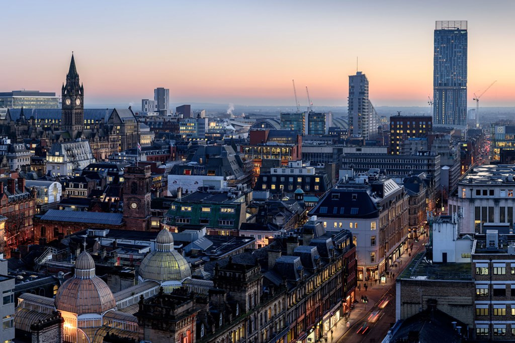 Manchester city centre tops table for jobs and population growth Prolific  North