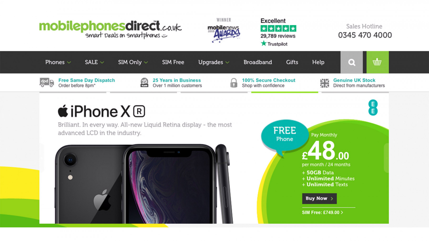 AO acquires Mobile Phones Direct for £32.5 million