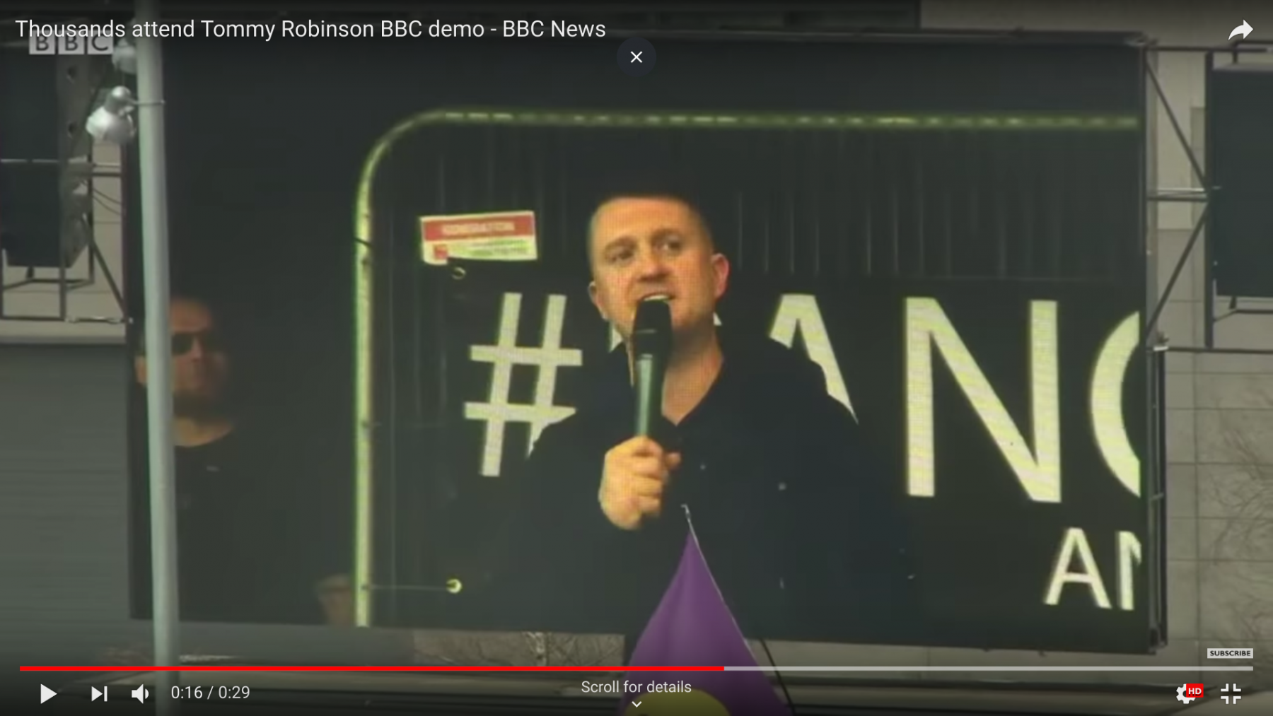 Facebook erases far-right activist Tommy Robinson's page over 'hate speech'