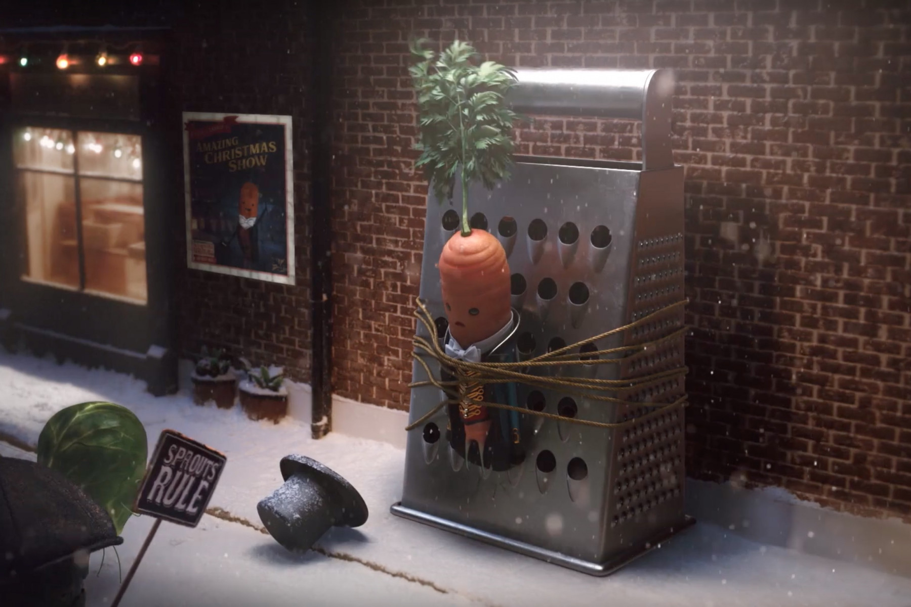 Kevin the Carrot returns in Aldi's 2019 Christmas ad