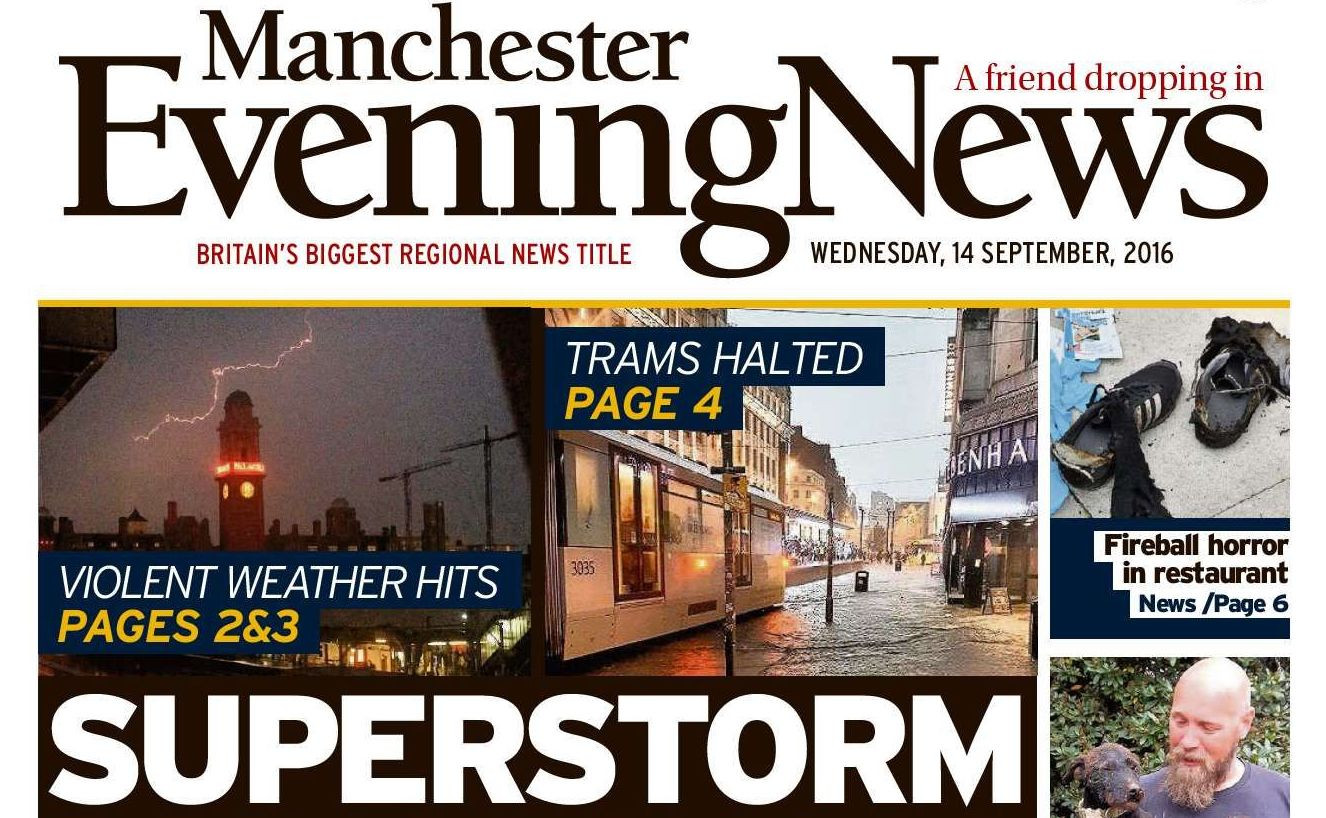 Mirror and Express owner reports massive loss