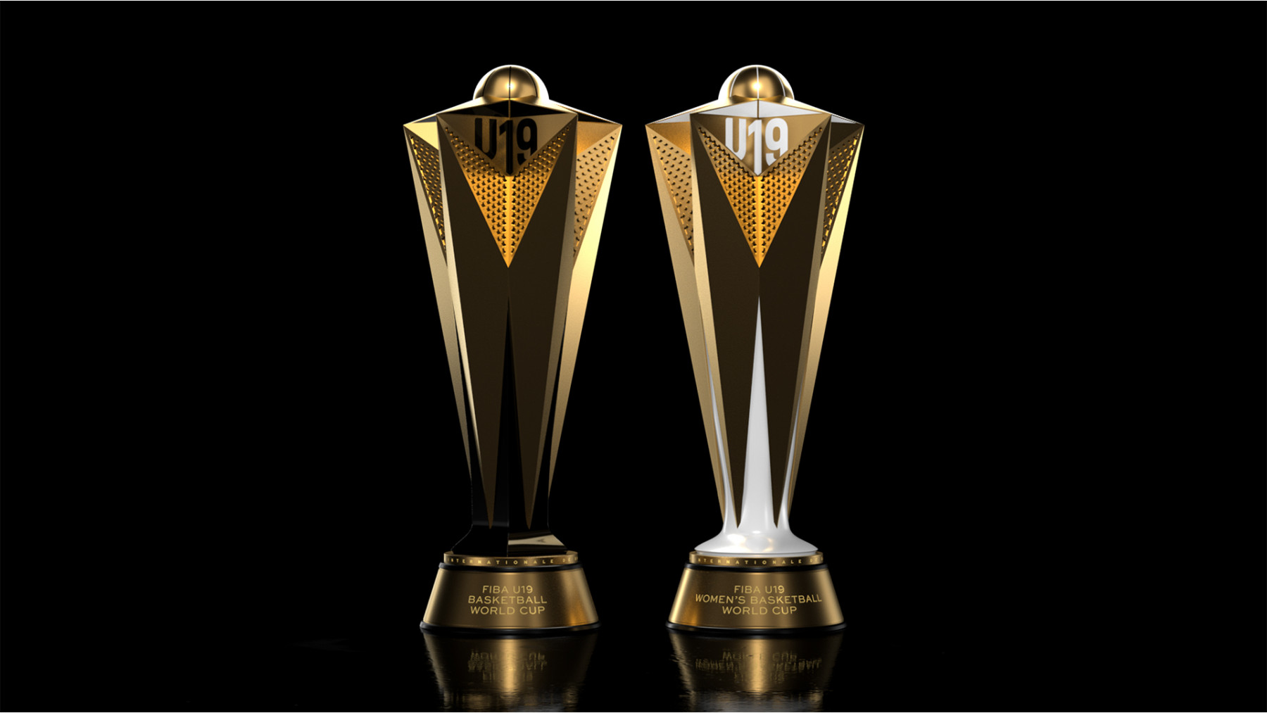 Works designs International Basketball trophies | Prolific North