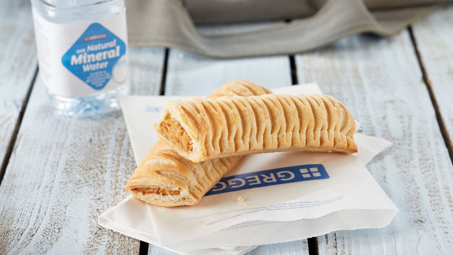 Where can you get a Greggs' vegan sausage roll in North Herts?