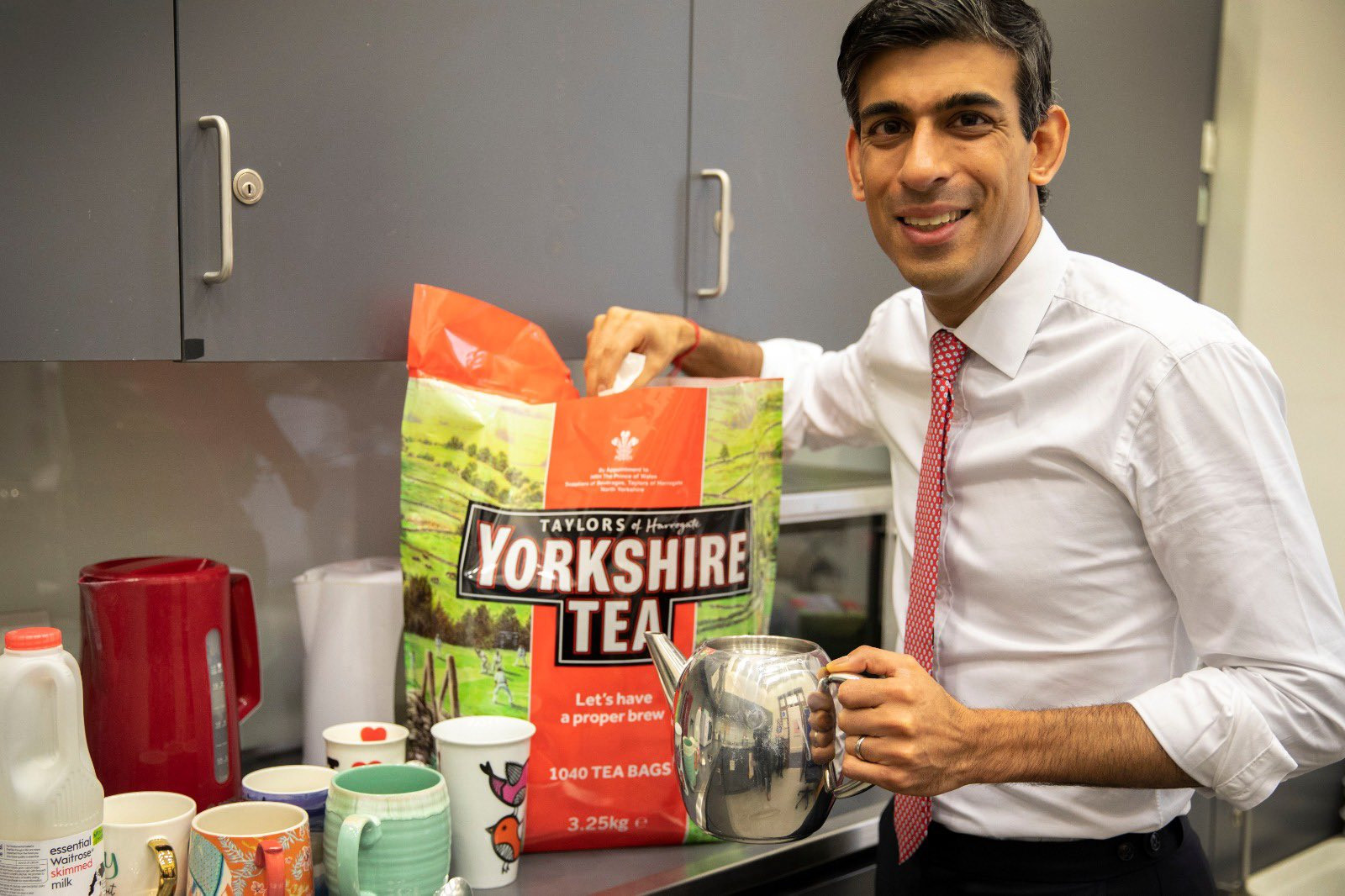 Storm in Yorkshire Tea cup prompts message from Plymouth MP
