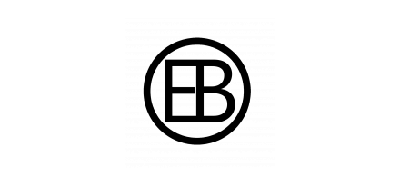 EB Creative black logo