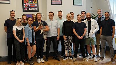 Mustard Media's team