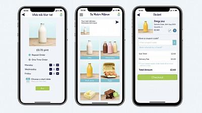The Modern Milkman app