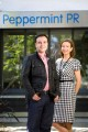 Peppermint PR's MDs Jean-Philippe and Suzy Glaskie