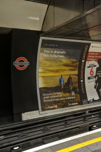 Campaign advertising on the Underground
