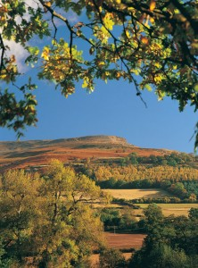 Table Mountain Crickhowell, in the Brecon Beacons