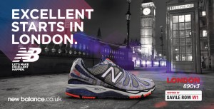 New Balance London Marathon creative 1