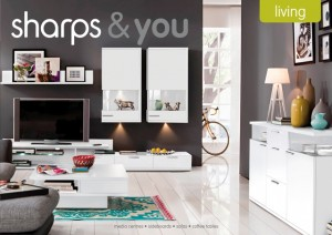 Some of The Market Creative's work for Sharps living