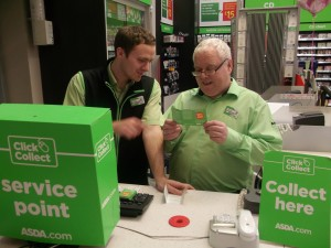 Asda's click and collect service