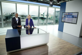 The new Granada Reports set at MediaCityUK