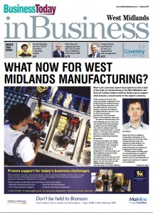 First issue of inBusiness West Midlands